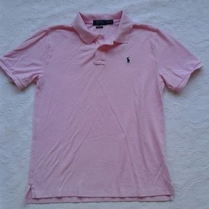 Ralph Lauren Polo Pink Short Sleeves Classic Fit
